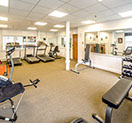 gym at poland spring resort